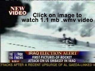 Click Image to watch the aerial photography that led to the arrest of the terrorist that fired the rocket into the green zone 1/29/05