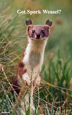 Click the Pic to see the origin of the Spork Weasel