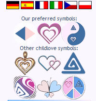 childs pedophile symbol